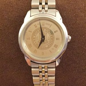 Wake Forest University Stainless Steel Watch